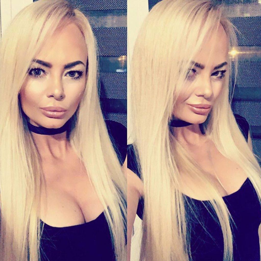 sexy blonde rus girl